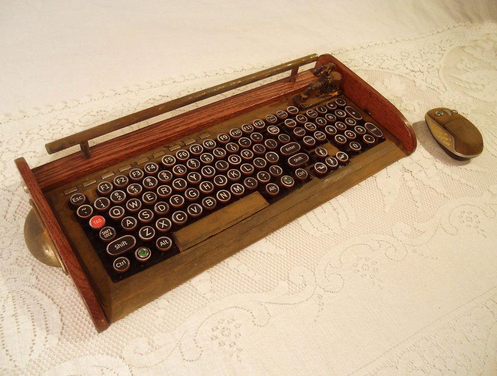 Typewriter Keyboard For Computer